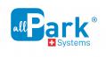 Logo allpark system suisse bleu sur blanc 002